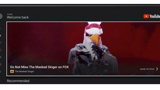 Google permite que todos los anunciantes accedan a los anuncios de masthead de YouTube en televisores