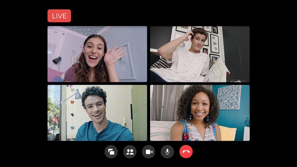 Facebook permite la transmisión en vivo de 50 personas con salas de mensajería