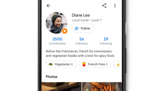 Google Maps se vuelve social al dar a cada usuario su propio perfil