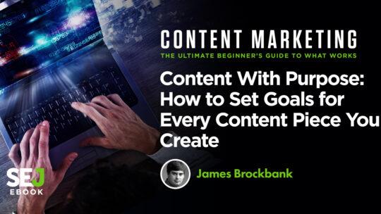 Cómo establecer objetivos para cada contenido que crea