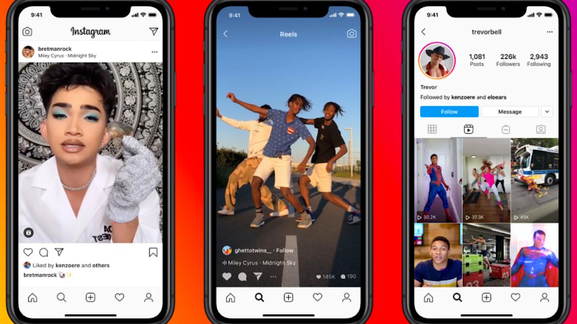 Los carretes de Instagram se globalizan para competir con TikTok