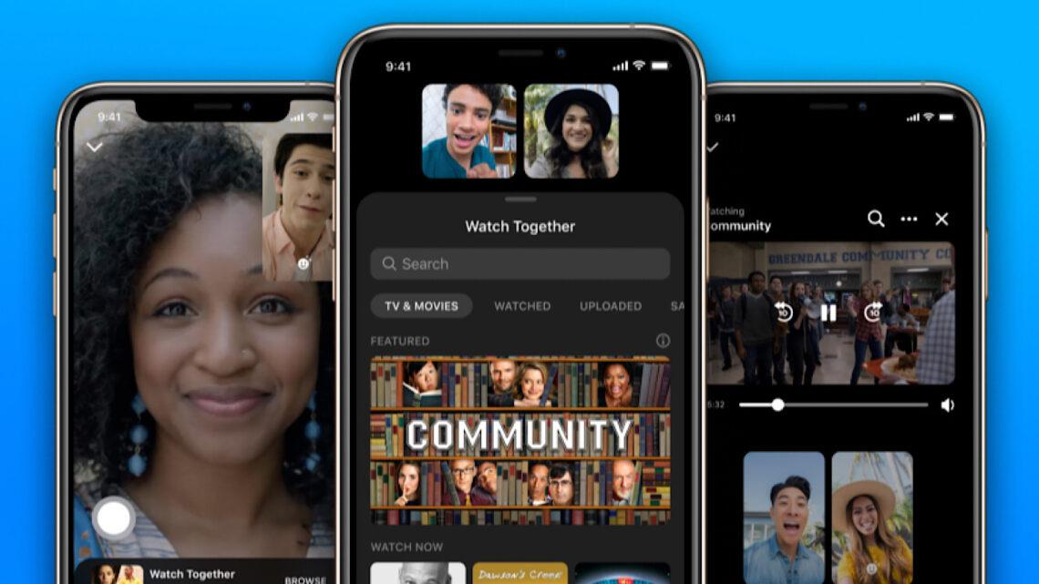 Facebook Messenger permite a los usuarios ver videos juntos