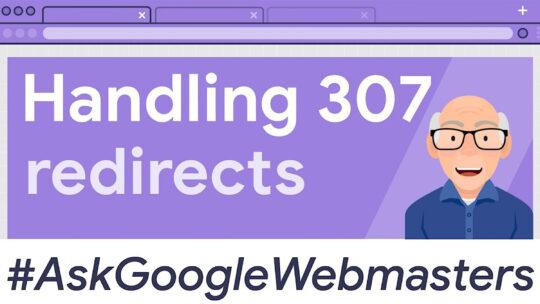 Google en redireccionamientos 307 / HSTS (HTTP a HTTPS)
