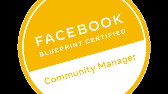 Programa de certificación de Community Manager de Facebook