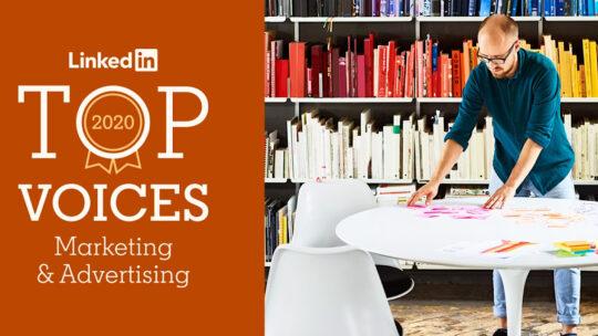 LinkedIn enumera los mejores profesionales de marketing de 2020