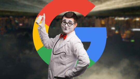 Google sobre la criminalización de la desinformación