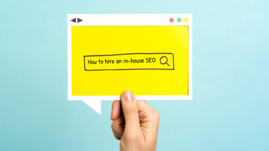 Cómo contratar a un experto en SEO empresarial para su equipo de marketing