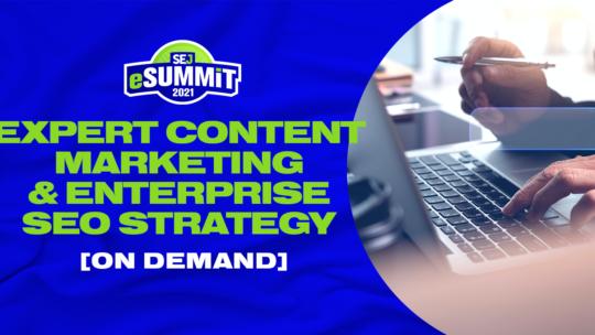 Experto en marketing de contenidos y estrategia SEO empresarial, bajo demanda