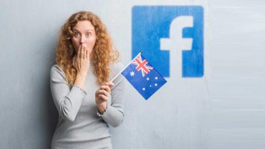 Facebook bloquea las noticias de Australia