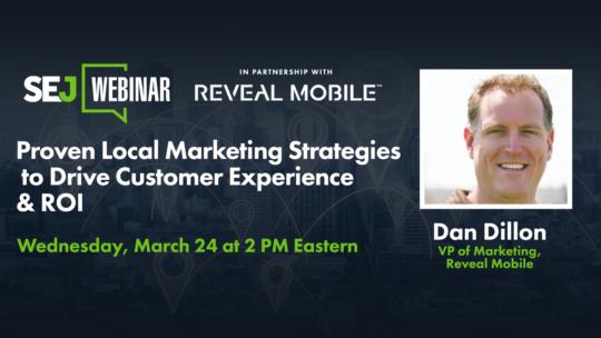 Estrategias de marketing local probadas para impulsar la experiencia del cliente y el ROI [Webinar]