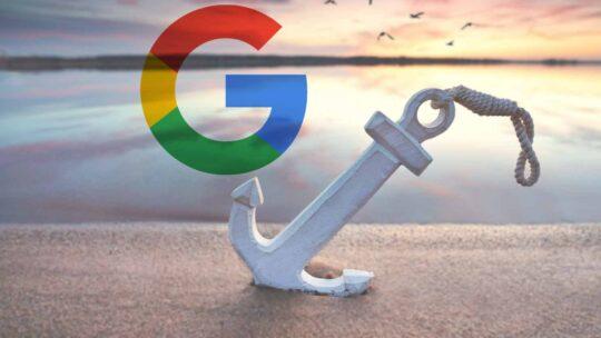 Google sobre la elección del mejor texto de anclaje