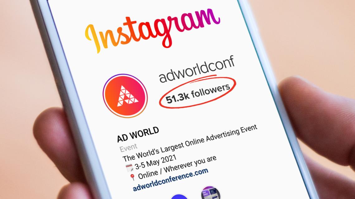 Cómo Ad World pasó de cero a 50.000 seguidores en Instagram en 9 meses