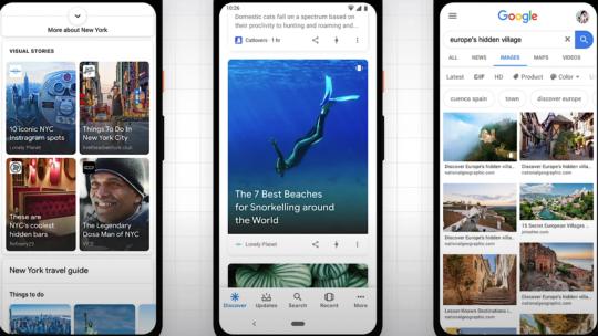 Google sobre la optimización de historias web para resultados de búsqueda