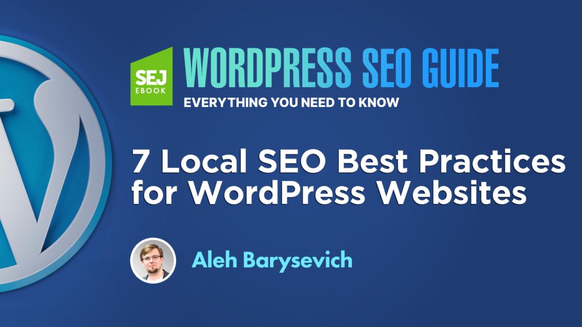 7 mejores prácticas locales de SEO para sitios web de WordPress