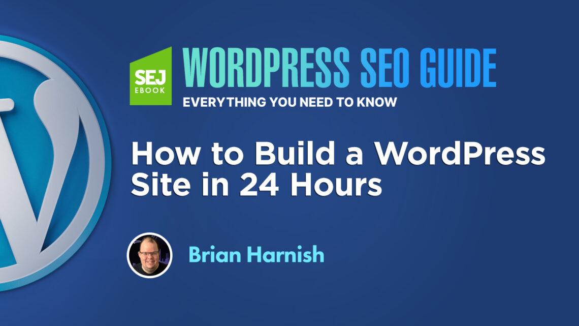 Cómo crear un sitio de WordPress en 24 horas