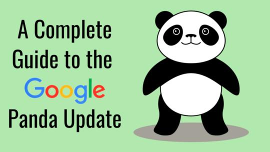 Una guía completa para actualizar Google Panda: 2011-21