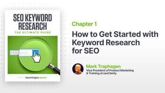 Cómo comenzar con la investigación de palabras clave para SEO