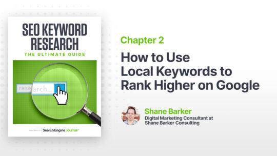 Cómo usar palabras clave locales para obtener una clasificación más alta en Google